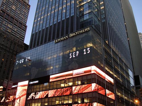 Faillite de Lehman-Brothers : 6 ans déjà
